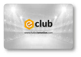 e-Club Fútbol Emotion card