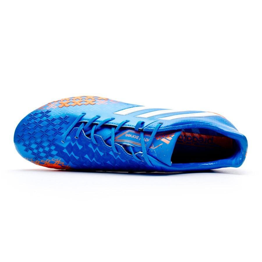 c7e6c8903f48a Chuteira adidas Predator LZ TRX FG Azul-Laranja - Loja de futebol Fútbol  Emotion