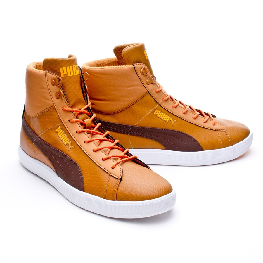 6a523b61cb35 Trainers Puma Archive Lite mid WNTR Marrón-Red - Football store ...