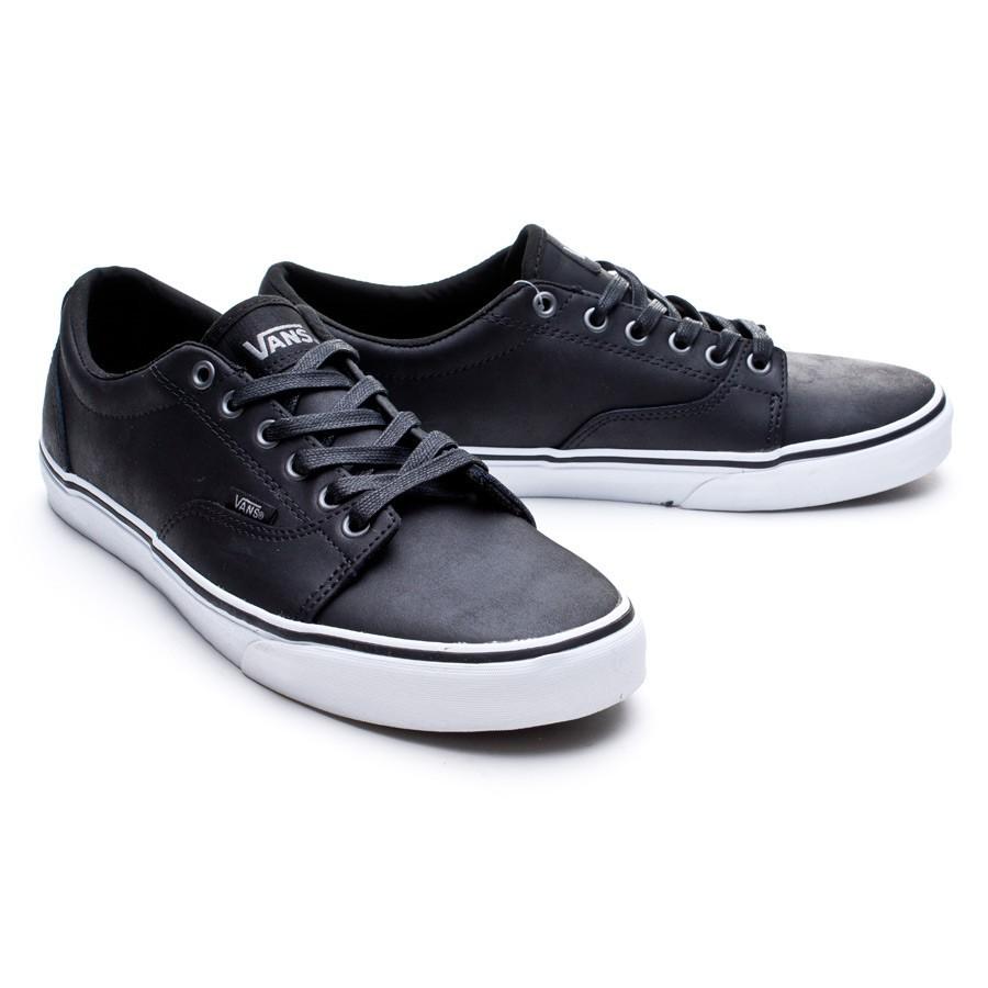 zapatillas de piel vans