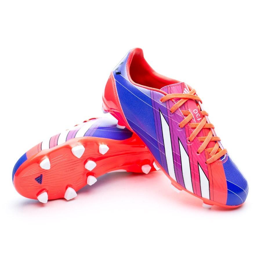 2f6ac0168011b Bota de fútbol adidas F30 TRX FG Messi Niño Turbo-Purple - Tienda de fútbol  Fútbol Emotion