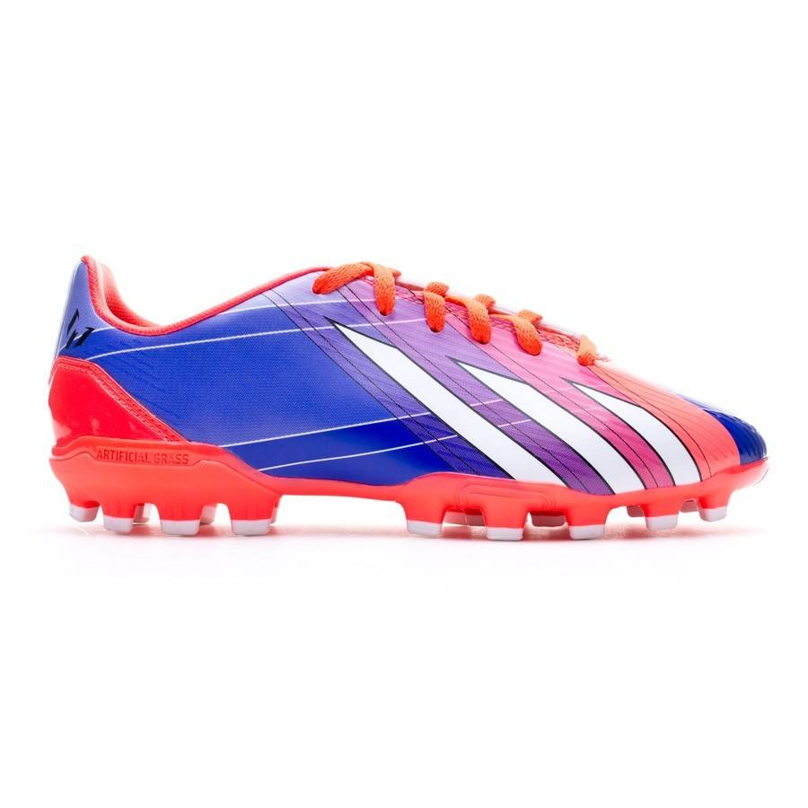 watch 108ee 8fb16 Zapatos de fútbol adidas F10 TRX AG Messi Niño Turbo-Purple - Soloporteros  es ahora Fútbol Emotion