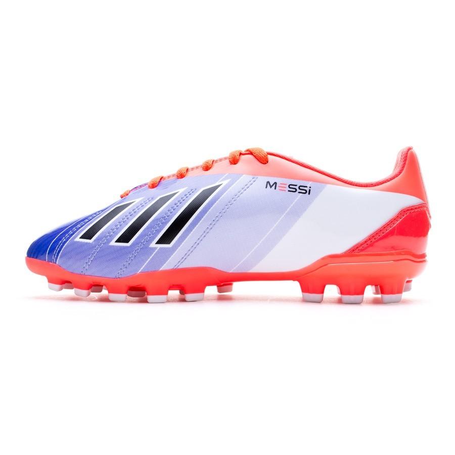 newest 5c9ce a60a7 Bota de fútbol adidas F10 TRX AG Messi Niño Turbo-Purple - Soloporteros es  ahora Fútbol Emotion