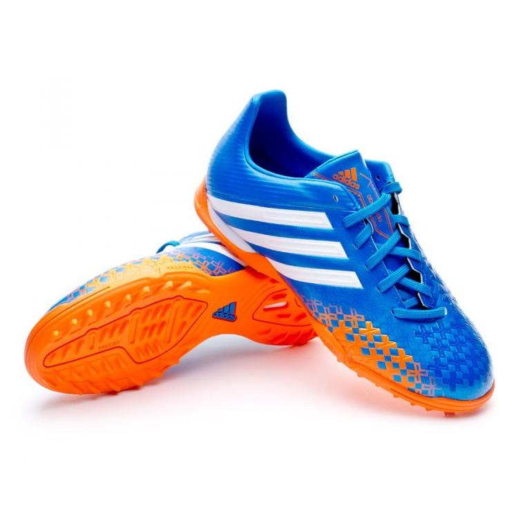 cb6452212d9 Football Boots adidas Jr Predator Absolado LZ TRX FG Blue-Orange ...