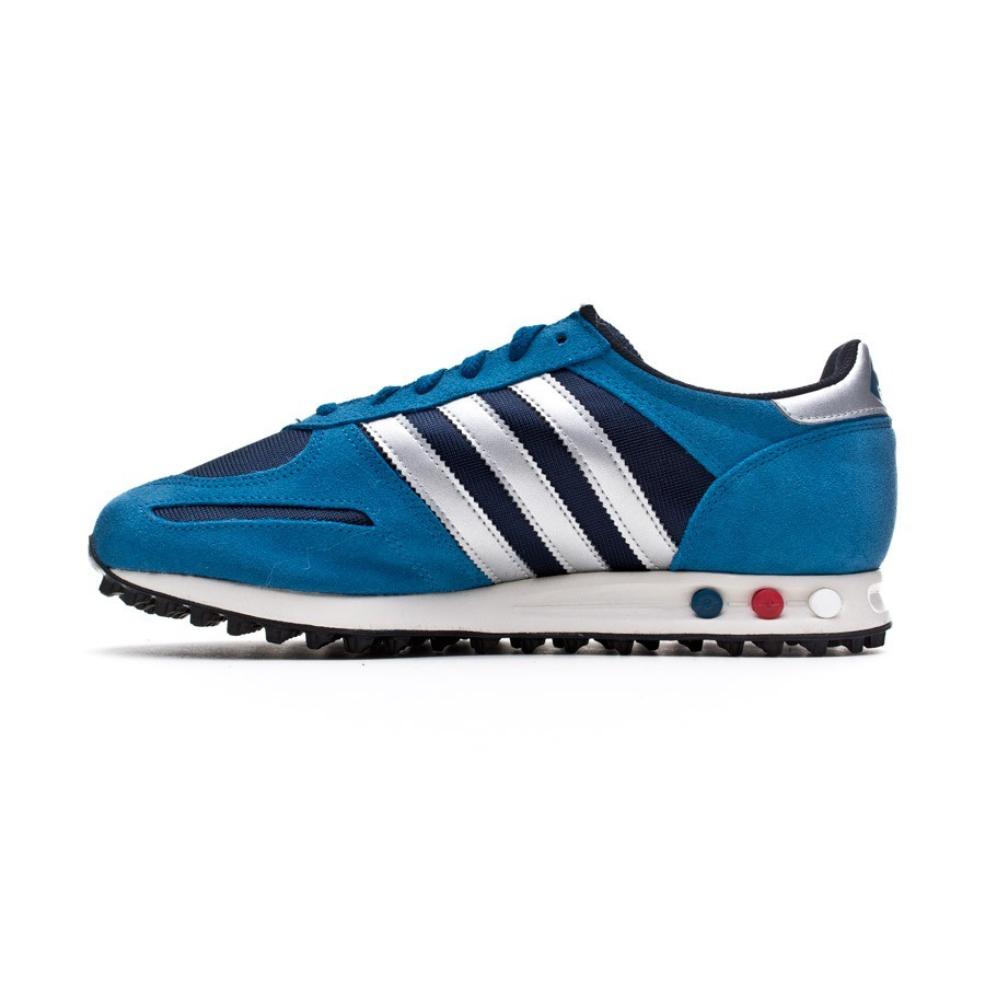 trainers adidas la trainer blue silver soloporteros is. Black Bedroom Furniture Sets. Home Design Ideas