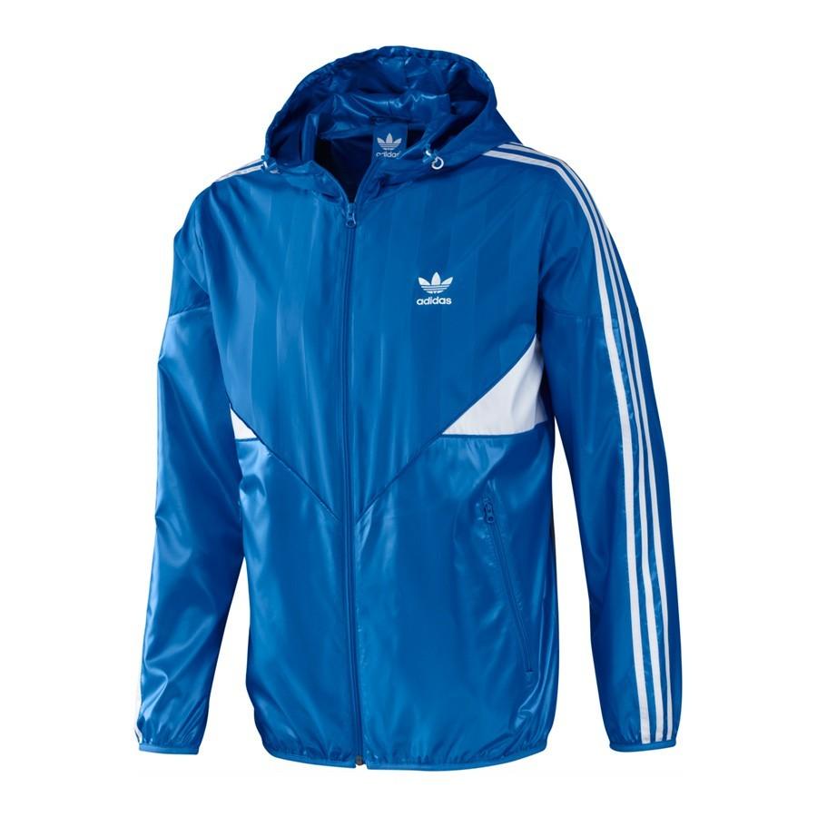 chaquetas adidas azul