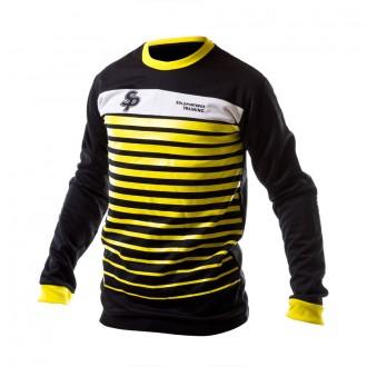 Sudadera  SP No Goal Negra-Amarilla