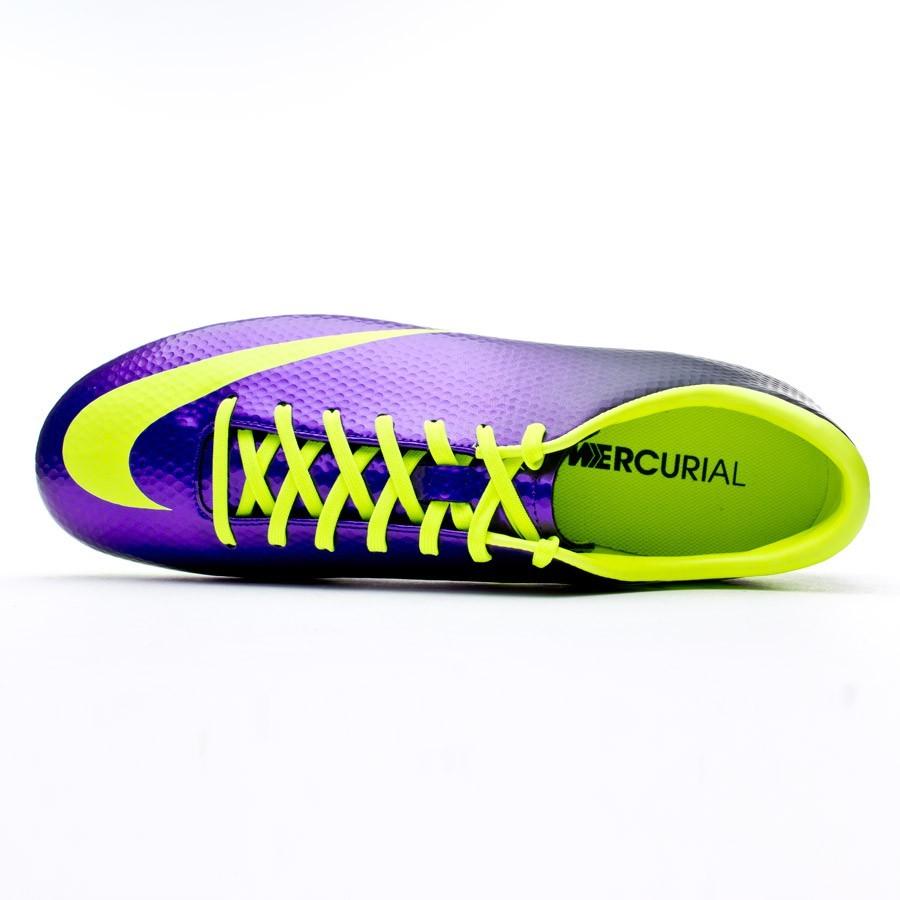 8d2bfbdfd Football Boots Nike Mercurial Victory IV AG Pure purple-Volt - Football  store Fútbol Emotion