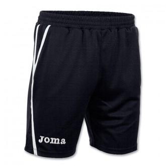 Pantalón corto  Joma Bermuda Game Negro-Blanco