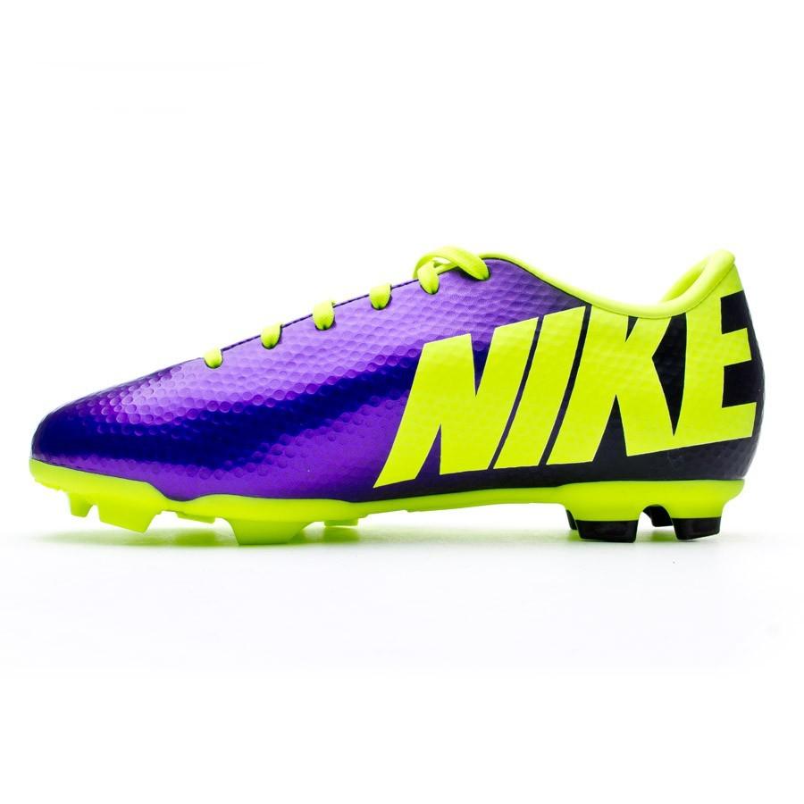 49ac2c477 Football Boots Nike Jr Mercurial Victory IV FG Pure purple-Volt - Football  store Fútbol Emotion