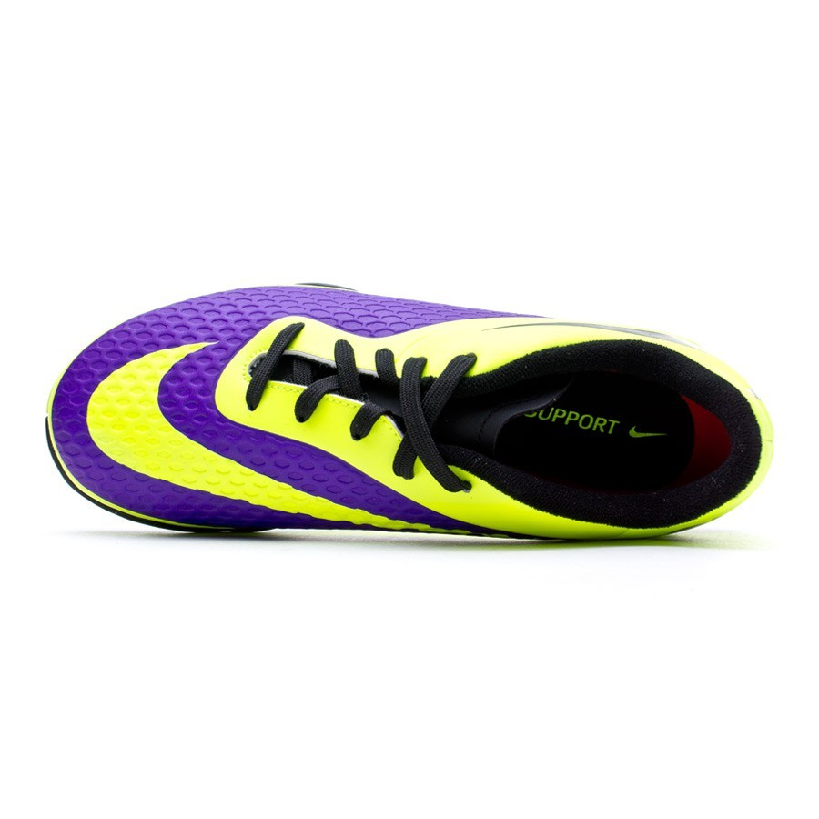 nike hypervenom purple volt