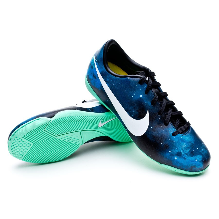 6afb23beed Futsal Boot Nike Jr Mercurial Victory CR IC Galactic Blue - Football ...