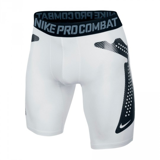 Malla  Nike Nike Pro Combat Blanca