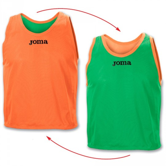 Peto  Joma Reversible Joma Verde-Naranja