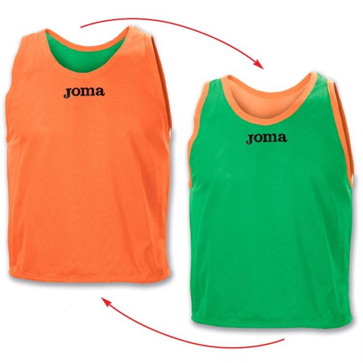Peto Joma Reversible Joma Verde-Naranja - Soloporteros es ahora ... a4ce62f9b17