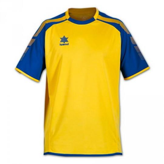 Camiseta  Luanvi London Amarilla-Azul