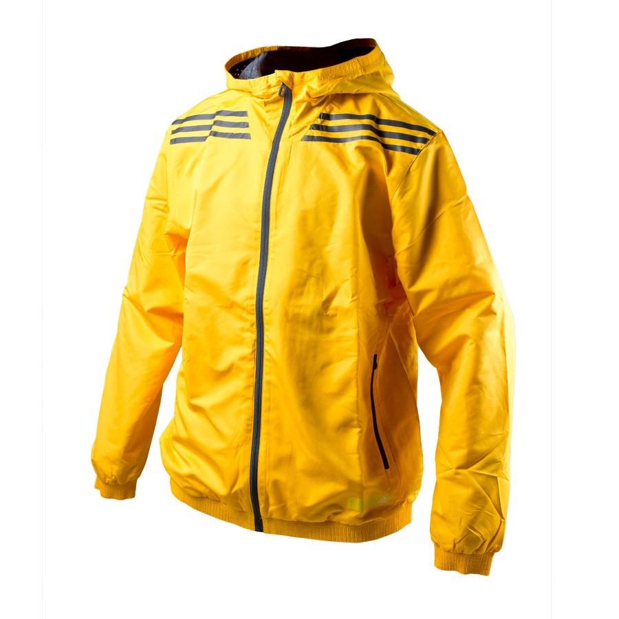 76130813d328 Chaqueta adidas Cortavientos 3F 3S Amarilla-Negra - Tienda de fútbol Fútbol  Emotion