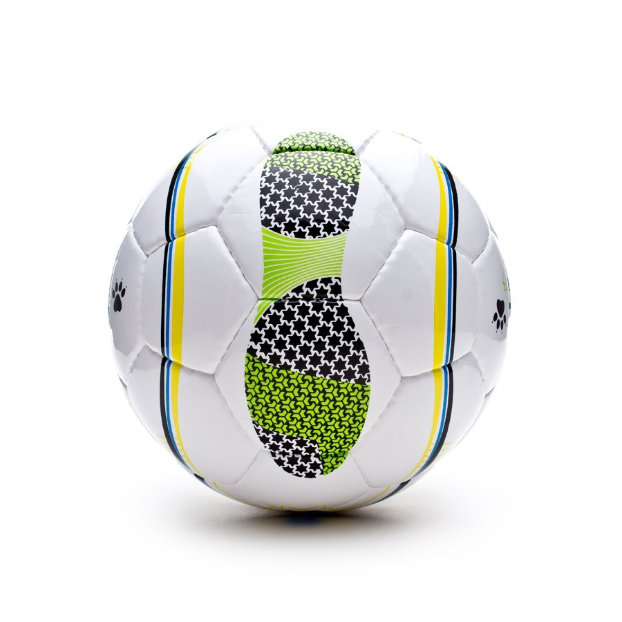 2fa2c7e5a25ad Balón Kelme Oficial LNFS Star 13 Blanco-Verde - Tienda de fútbol Fútbol  Emotion