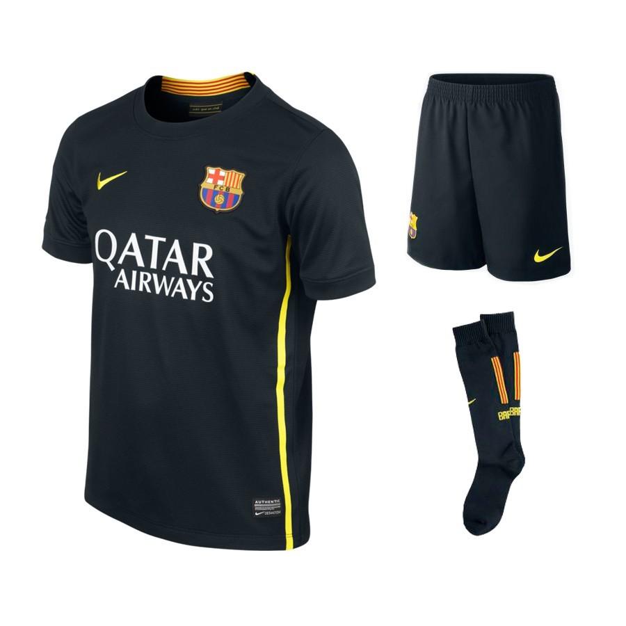 bec30d88a5967 Kit Nike Jr FC Barcelona 2013-2014 Black - Tienda de fútbol Fútbol ...