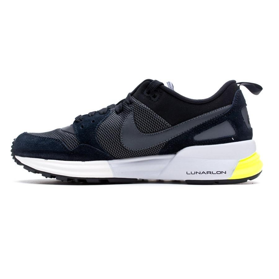 big sale 3a05b 39ae0 Zapatilla Nike Lunar Pegasus 89 Negra-Antracita - Tienda de fútbol Fútbol  Emotion