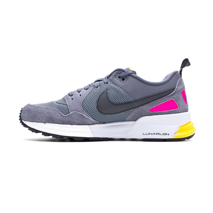 new product ee13e 79d54 Trainers Nike Lunar Pegasus 89 Gray-Black - Football store Fútbol Emotion