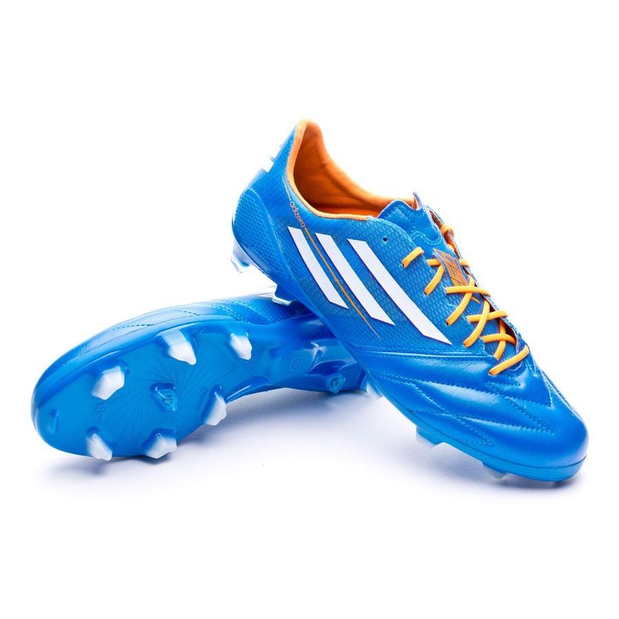 7dc95b1833f Football Boots adidas adizero F50 TRX FG Piel Solar blue - Tienda de ...