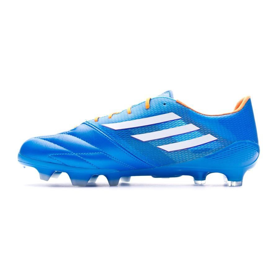 Boot adidas adizero F50 TRX FG Piel Solar blue - Leaked soccer 45fac529f9ab4