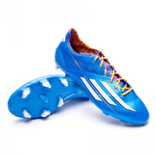 Chaussure de foot adidas adizero F50 TRX FG Solar blue - Fútbol ...