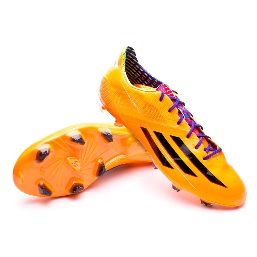 d5ca3d5cc3d96 Bota de fútbol adidas adizero F50 TRX FG Solar zest - Tienda de fútbol  Fútbol Emotion
