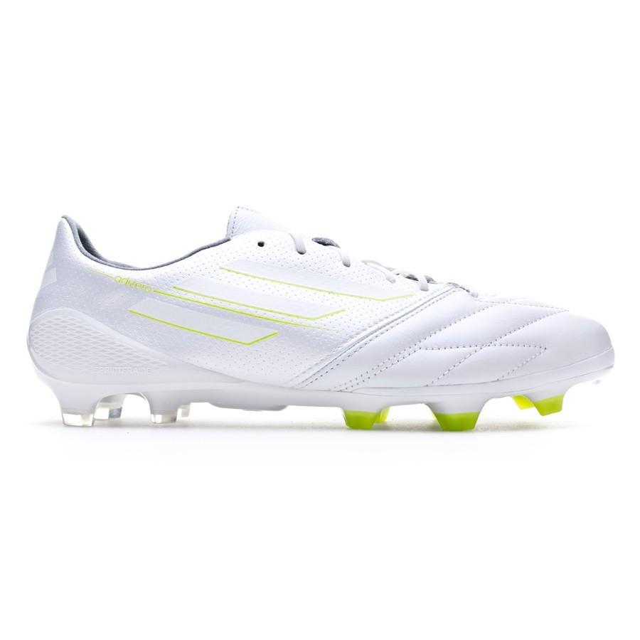 67bbbf2097 Chuteira adidas adizero F50 TRX FG Pele Exclusiva White - Loja de futebol  Fútbol Emotion