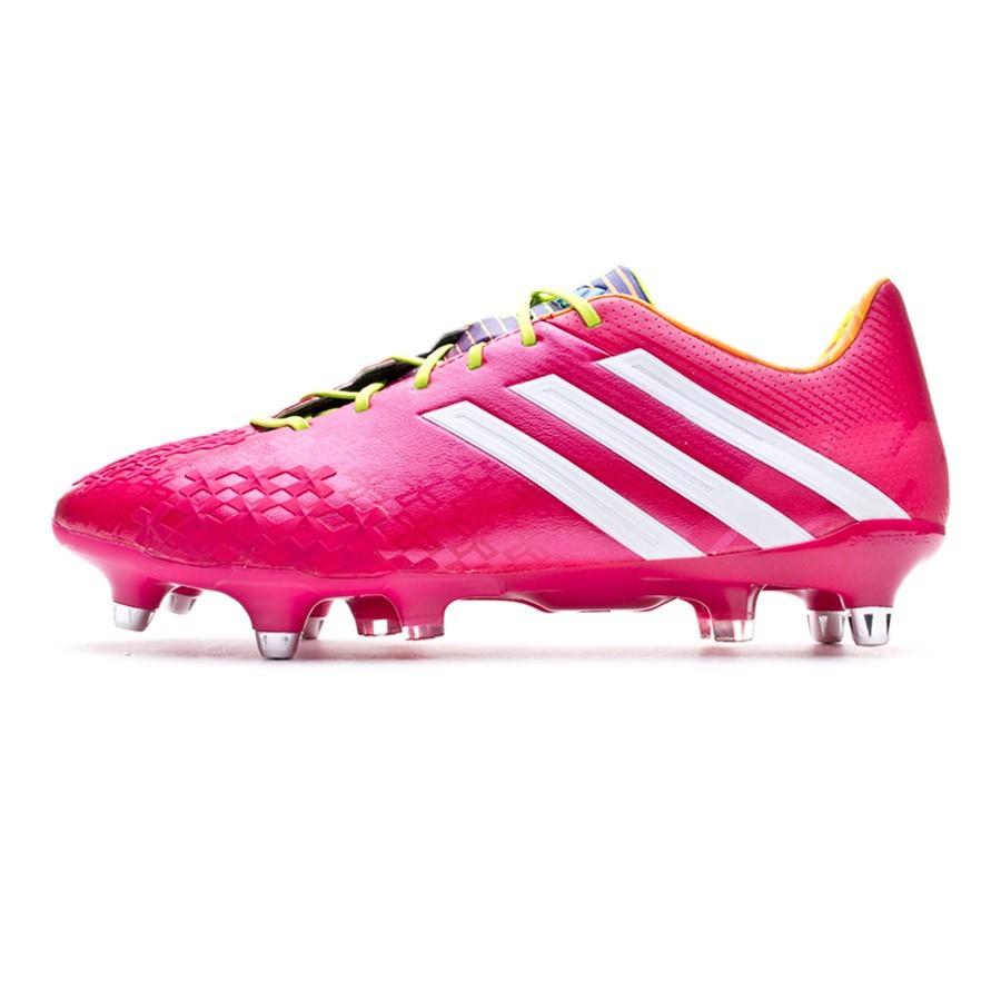 best sneakers e1331 380d0 Football Boots adidas Predator LZ XTRX SG Vivid berry-Solar slime -  Football store Fútbol Emotion