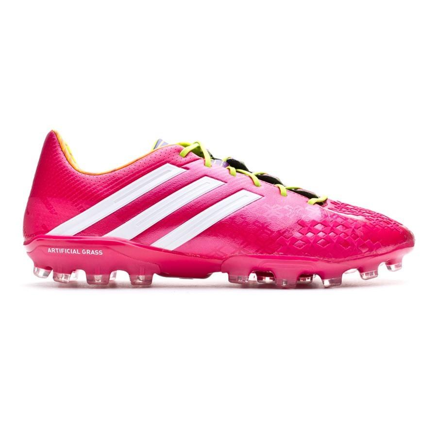 premium selection 9664f 49edf Football Boots adidas Predator LZ TRX AG Vivid berry-Solar slime - Football  store Fútbol Emotion