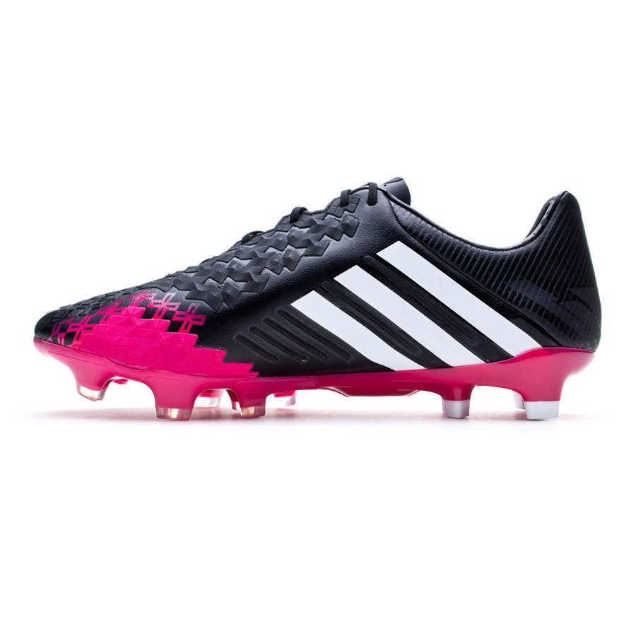 buy popular 52940 88d2b authentic bota de fútbol adidas predator lz trx fg negra vivid berry  soloporteros es ahora fútbol