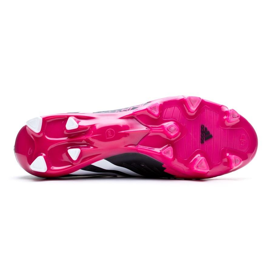 ... authentic bota de fútbol adidas predator lz trx fg negra vivid berry  soloporteros es ahora fútbol 3ac02d491cabe