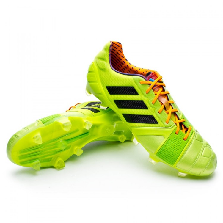on sale 5ab14 3e72a bota-adidas-nitrocharge-1.0-trx-fg-solar-slime-
