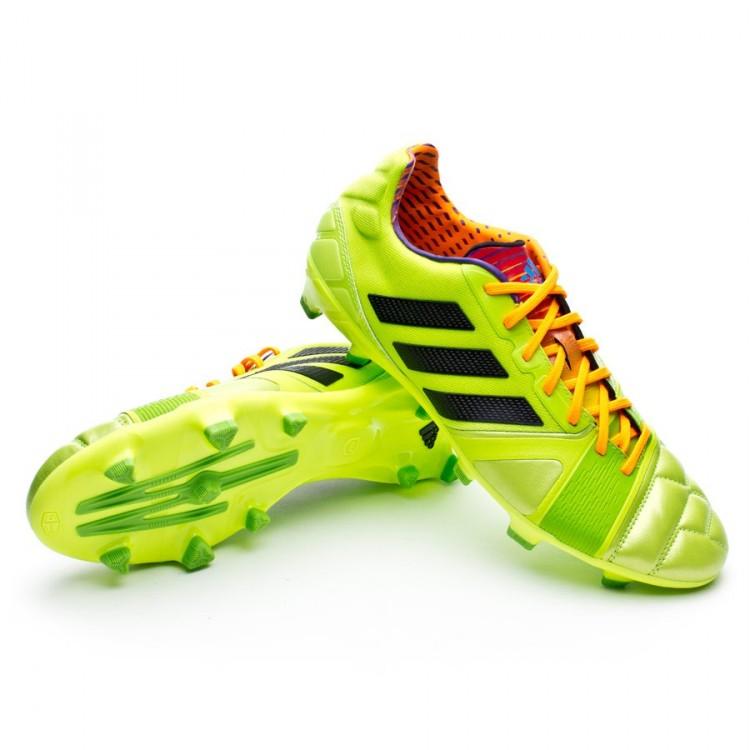fbcc60da9cd3 Football Boots adidas Nitrocharge 2.0 TRX FG Solar slime-Solar zest ...