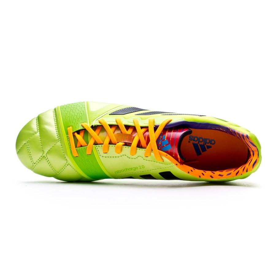 0137813ff156 Football Boots adidas Nitrocharge 2.0 TRX FG Solar slime-Solar zest -  Tienda de fútbol Fútbol Emotion