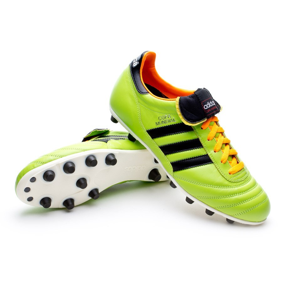 detailed look 21ac4 26fab Football Boots adidas Copa Mundial Edición Limitada Solar Slime - Football  store Fútbol Emotion