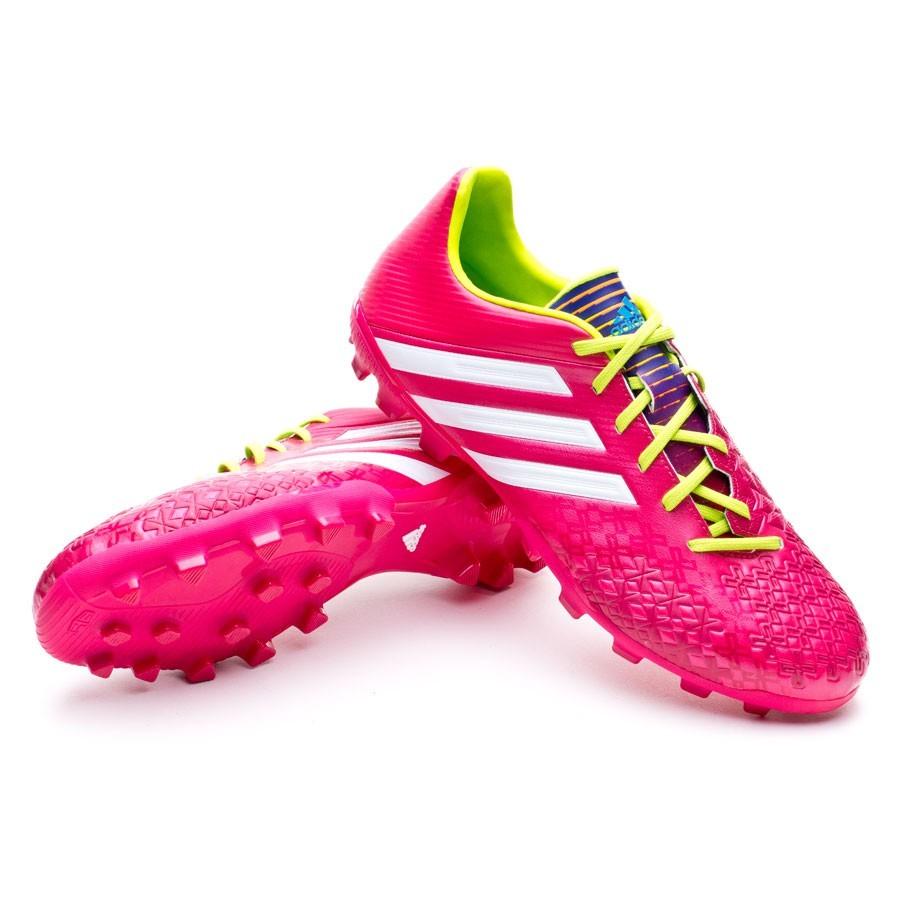 1c25244db25 adidas Jr Predator Absolado LZ TRX AG Football Boots. Vivid berry-Solar  slime ...