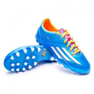 Bota  adidas Jr F10 TRX AG Solar blue