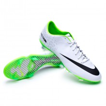 Mercurial Vapor IX REF FG ACC Blanca reflectante-Electric green