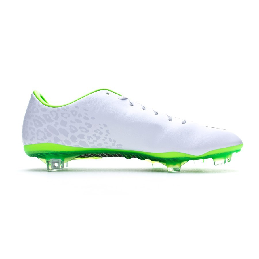 1def3dfcd3c Football Boots Nike Mercurial Vapor IX REF FG ACC Blanca  reflectante-Electric green - Football store Fútbol Emotion