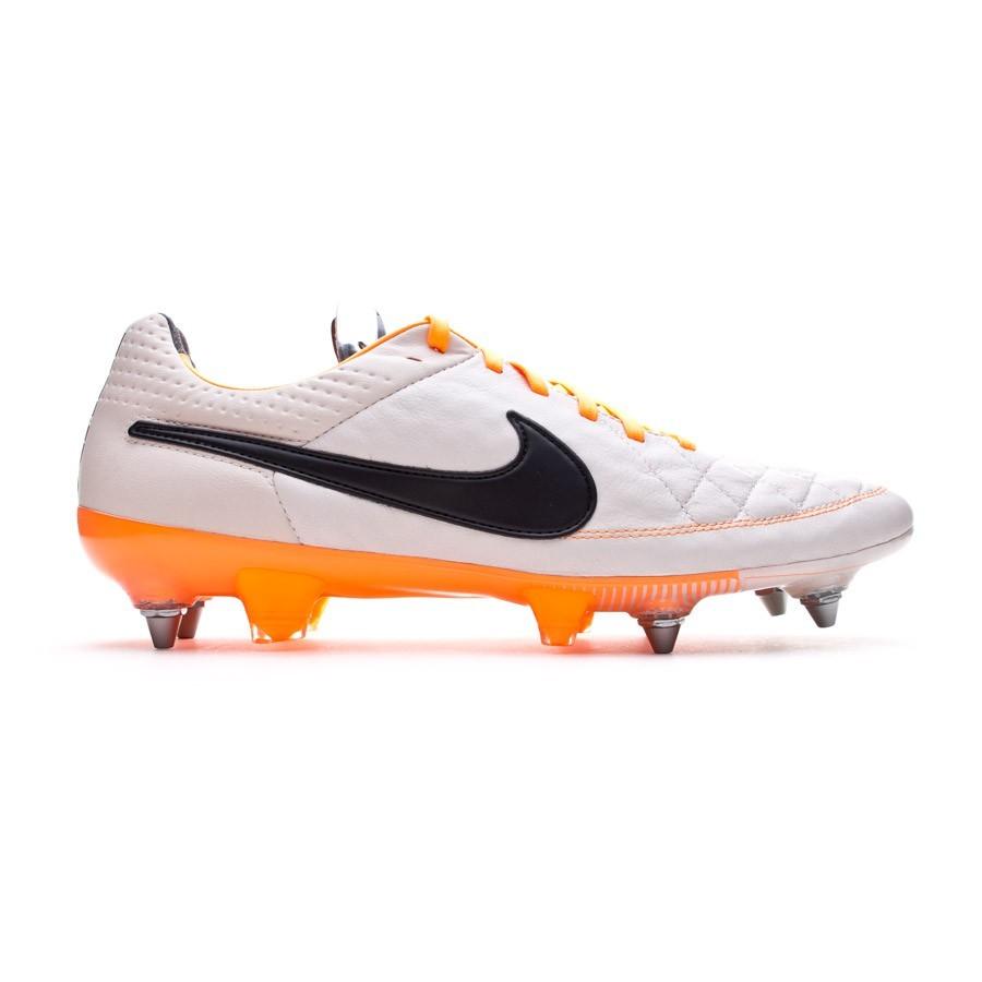 reputable site af7b5 1bb1b Football Boots Nike Tiempo Legend V SG-PRO ACC Desert sand-Atomic orange -  Football store Fútbol Emotion