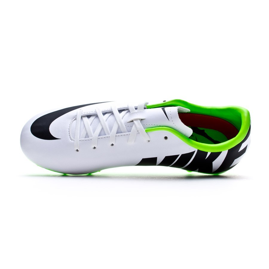 new arrivals 57087 629ee ... Bota Mercurial Victory IV AG Niño Blanca reflectante-Electric green.  CATEGORY