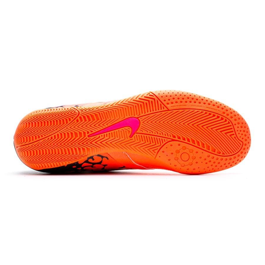 1e5fec01246b7 ... zapatilla nike elastico ii naranja rosa soloporteros es ahora fútbol  emotion
