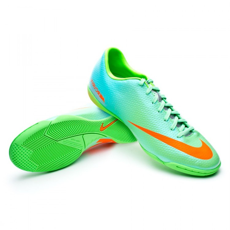 b5b9a71081d7 Tenis Nike Mercurial Victory IV IC Niño Neo Lime - Tienda de fútbol ...