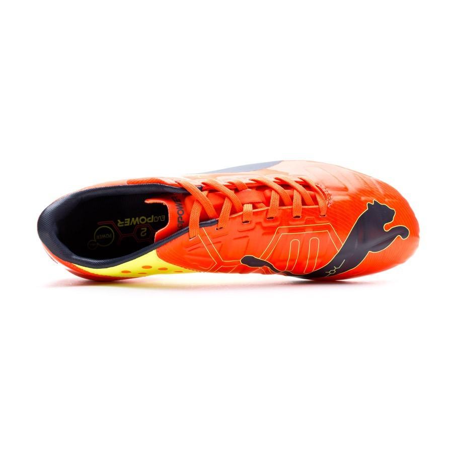 c0f41ac659d9 Boot Puma Evopower 2 FG Orange - Soloporteros es ahora Fútbol Emotion