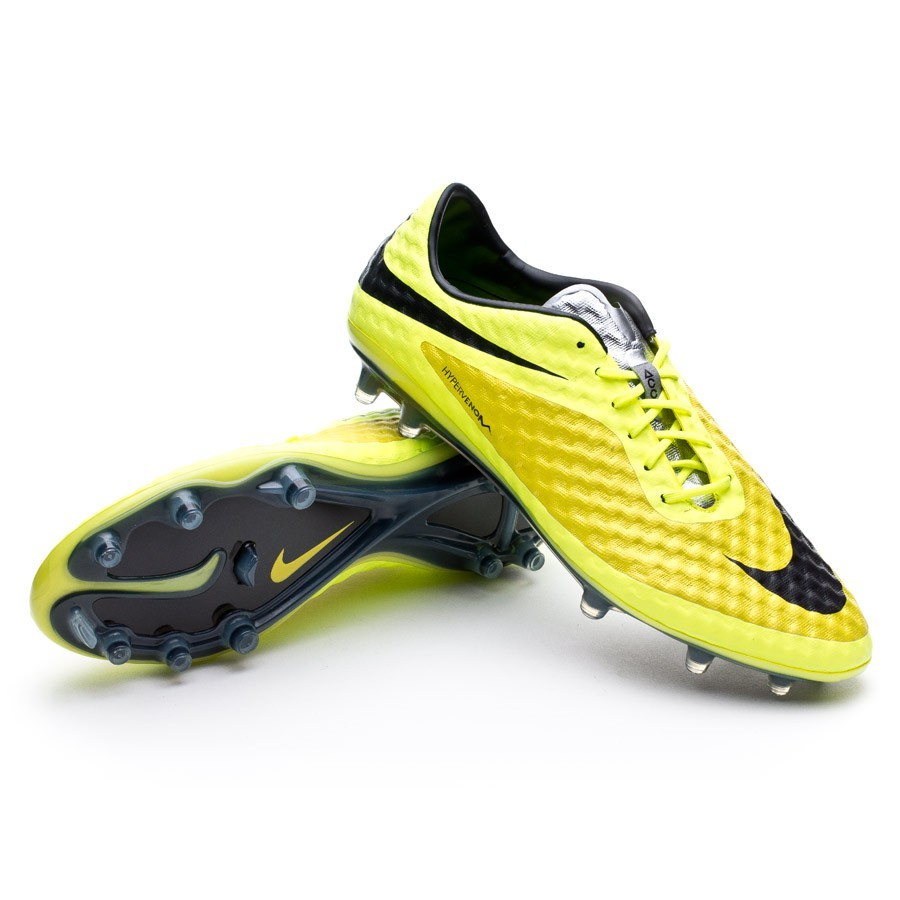 15b0513a865bb Football Boots Nike Hypervenom Phantom FG Vibrant yellow-Volt ice ...