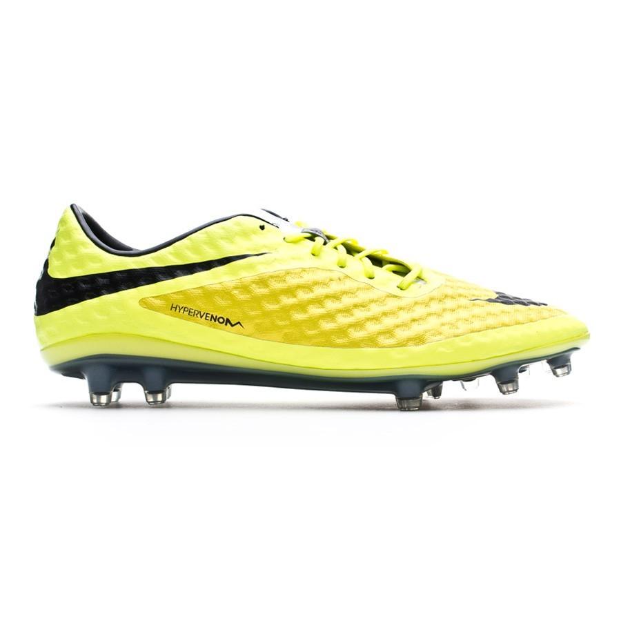 233a58175 Football Boots Nike Hypervenom Phantom FG Vibrant yellow-Volt ice - Football  store Fútbol Emotion