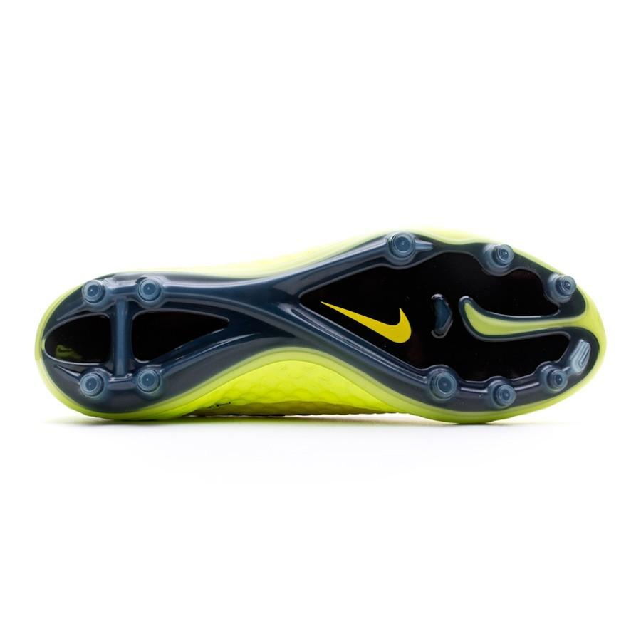 pretty nice f225e c4853 Football Boots Nike Hypervenom Phantom FG Vibrant yellow-Volt ice -  Football store Fútbol Emotion